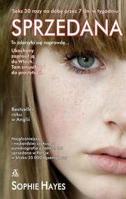okładka Sprzedana, Książka   Hayes Sophie