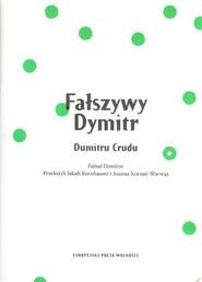 okładka Fałszywy Dymitr, Książka | Crudu Dumitru
