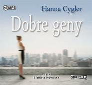 okładka Dobre geny, Książka | Hanna Cygler