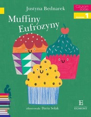 okładka Muffiny Eufrozyny Czytam sobie, Książka | Justyna Bednarek