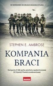 okładka Kompania braci, Książka   Stephen E. Ambrose