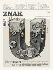 okładka ZNAK 761 10/2018: Uniwersytet to my!, Książka  