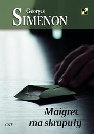 okładka Maigret ma skrupuły, Książka | Georges Simenon