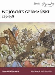okładka Wojownik germański 236-568, Książka | Harrison Mark