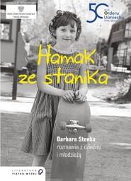 okładka Hamak ze stanika, Książka | Barbara Stenka