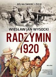 okładka Radzymin 1920, Książka | Wiesław Jan Wysocki