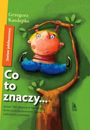 okładka Co to znaczy... - Zestaw Jubileuszowy, Ebook | Grzegorz Kasdepke