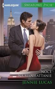okładka Noce na Manhattanie, Książka | Jennie Lucas