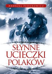 okładka Słynne ucieczki Polaków, Książka   Andrzej Fedorowicz