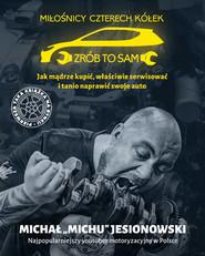 okładka Miłośnicy 4 kółek, Książka | Jesionowski Michał