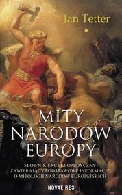 okładka Mity narodów Europy, Książka | Tetter Jan