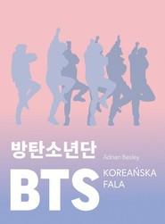 okładka BTS. Koreańska fala, Książka   Besley Adrian