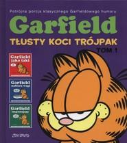 okładka Garfield Tłusty koci trójpak Tom 1, Książka | Davis Jim
