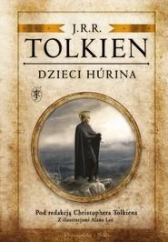 okładka Dzieci Hurina Pod redakcją Christophera Tolkiena, Książka   J.R.R.  Tolkien
