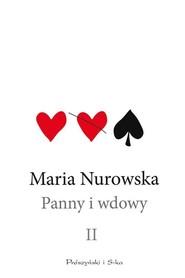 okładka Panny i wdowy Tom 2, Książka | Maria Nurowska