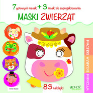 okładka Maski zwierząt, Książka | Mazza Irene