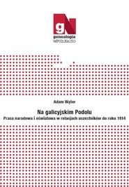 okładka Na galicyjskim Podolu Praca narodowa i oświatowa w relacjach uczestników do roku 1914, Książka | Wątor Adam