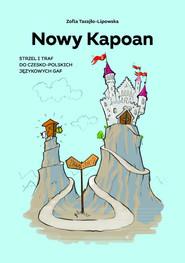 okładka Nowy Kapoan, Książka | Zofia Tarajło-Lipowska