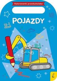 okładka Kolorowanki przedszkolaka Pojazdy, Książka |