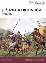 okładka Jeździec Karolingów 768-987, Książka | David Nicolle