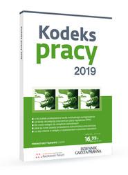 okładka Kodeks pracy 2019, Książka | Sławoimir Paruch, Robert Stępień, Agnieszka Nicińska
