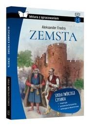 okładka Zemsta Lektura z pracowaniem / SBM, Książka | Aleksander Fredro