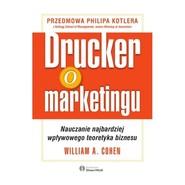 okładka Drucker o marketingu, Książka | William Cohen