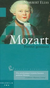 okładka Wielkie biografie Tom 7 Mozart Portret geniusza, Książka   Elias Norbert