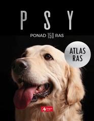 okładka Psy Atlas ras, Książka | Agnieszka Nojszewska, Jolanta Bąk