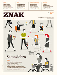 okładka ZNAK 767 4/2019: Samo dobro, Książka |