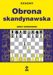 okładka Obrona skandynawska, Książka   Jerzy Konikowski