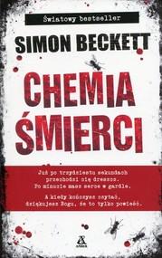 okładka Chemia śmierci, Książka | Simon Beckett