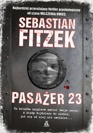 okładka Pasażer 23, Książka | Sebastian Fitzek