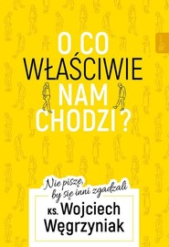 okładka O co właściwie nam chodzi? Nie piszę, by się inni zgadzali, Książka | Wojciech Węgrzyniak