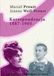 okładka Korespondencja 1887-1905 Listy do matki, Książka | Marcel Proust