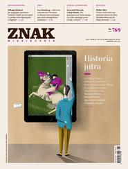 okładka ZNAK 769 6/2019: Historia jutra , Książka  