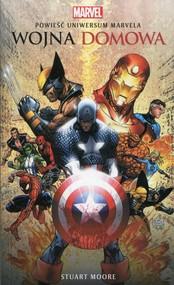 okładka Marvel Wojna domowa, Książka | Stuart Moore