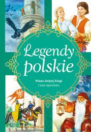 okładka Legendy polskie Dlaczego Bałtyk jest słony i inne opowiadania, Książka | Ewa  Stadtmuller