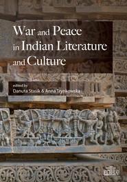 okładka War and Peace in Indian Literature and Culture, Książka  