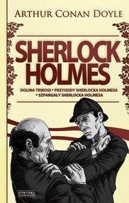 okładka Sherlock Holmes Tom 2 Dolina trwogi Przygody Sherlocka Holmesa. Szpargały Sherlocka Holmesa, Książka | Arthur Conan Doyle