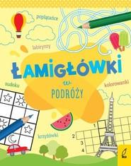 okładka Łamigłówki w podróży, Książka |