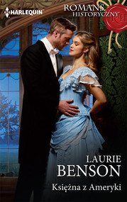okładka Księżna z Ameryki, Książka | Benson Laurie