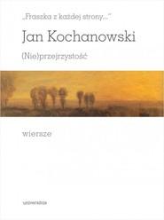 okładka Fraszka z każdej strony, Książka | Jan Kochanowski
