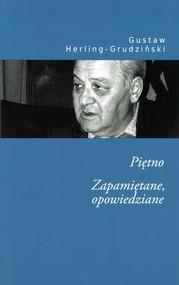 okładka Piętno zapamiętane opowiedziane, Książka | Herling-Grudziński Gustaw