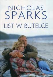 okładka List w butelce, Książka   Nicholas Sparks