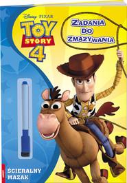 okładka Toy Story 4 Zadania do zmazywania, Książka |