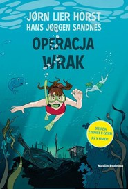 okładka Operacja Wrak, Książka   Jorn Lier Horst