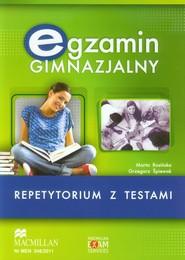 okładka Egzamin gimnazjalny Angielski Repetytorium z testami z płytą CD, Książka | Marta Rosińska, Grzegorz Śpiewak
