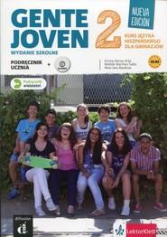 okładka Gente Joven 2 Podręcznik wieloletni z płytą CD Gimnazjum, Książka |