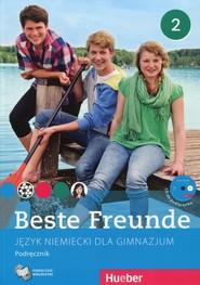 okładka Beste Freunde 2 Język niemiecki Podręcznik wieloletni z płytą CD Gimnazjum, Książka |